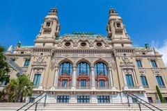 Facade of Sale Garnier in Monte Carlo, Monaco. Royalty Free Stock Photography