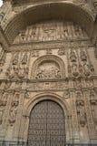 Facade of San Esteban Convent, Salamanca Stock Photos