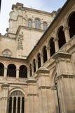 Facade of San Esteban Convent, Salamanca Royalty Free Stock Photography