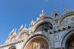 San Marco Church, Venice Italy stock photos