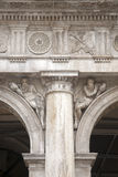 Facade of San Marcos - St Marks Square; Venice Royalty Free Stock Photos
