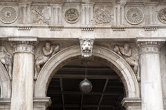 Facade of San Marcos - St Marks Square; Venice Stock Photos