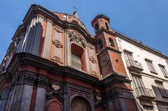 The Facade of Sant`Angelo a Nilo Royalty Free Stock Photography
