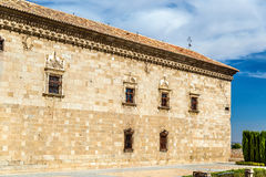 Facade of Santa Cruz Museum in Toledo, Spain. Facade of Santa Cruz Museum in Toledo - Spain royalty free stock images