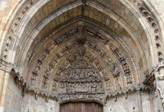 Facade of Santa Maria Cathedral Royalty Free Stock Image