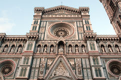 Facade of Santa Maria del Fiore (Duomo) Stock Image