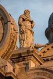 Facade of the Santa Maria della Salute church in Venice Stock Photo