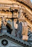 Facade of the Santa Maria della Salute church in Venice Stock Photography