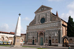 The facade of Santa Maria Novella Royalty Free Stock Photos
