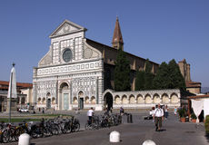 The Facade of Santa Maria Novella Stock Photo