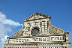 Facade of Santa Maria Novella, Florence, Italy Stock Photos