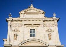 facade of Santa Maria in Provenzano Church Royalty Free Stock Photos