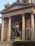 Facade of Serbian Parliament Royalty Free Stock Image