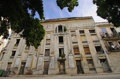 Facade from shabby habana building Stock Photo