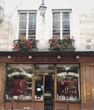 Parisian storefront royalty free stock photo