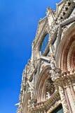 Facade of Siena dome (Duomo di Siena) Stock Image