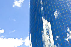 Facade of Skyscraper Royalty Free Stock Images