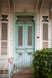 Facade of small house Royalty Free Stock Images