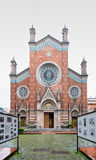 Facade of St. Anthony of Padua Church, Istanbul, Turkey Stock Images