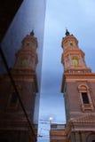 Facade of St. Ignatius church- San Francisco, Stock Image