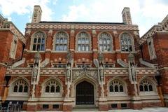 Facade of St Johns Divinity School, England Royalty Free Stock Photo
