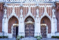 The facade of St. Joseph`s Cathedral royalty free stock photos