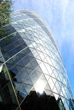 Facade of St Mary Axe London Royalty Free Stock Photo
