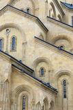 Facade of St.Trinity Cathedral Stock Photography
