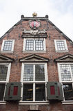 Facade of the Staalhof, Amsterdam, Holland Royalty Free Stock Photos