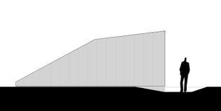 Facade of the staircase Stock Photography