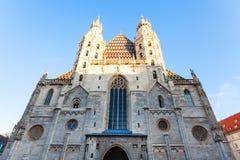 Facade of Stephansdom, Vienna Royalty Free Stock Image