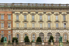 The facade of Stockholm Royal Palace, Stockholm, Sweden Stock Image