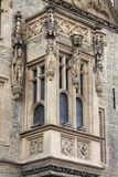 Facade of Stone House in Kutna Hora Royalty Free Stock Photo