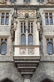 Facade of Stone House in Kutna Hora Stock Photography
