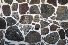 Facade of stone wall Royalty Free Stock Image