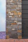 Facade stones Royalty Free Stock Image
