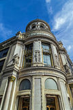 Facade of the store Printemps in Paris Royalty Free Stock Image