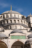 Facade of the Sultan Ahmed mosque, Istanbul Royalty Free Stock Photos