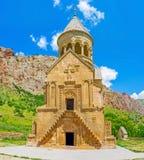 The facade of Surb Astvatsatsin Church Royalty Free Stock Image