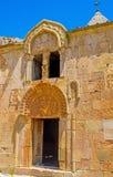 The facade of Surb Karapet Church in Noravank Monastery Royalty Free Stock Photos