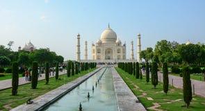 The facade of Taj Mahal Palace in Agra, India.  Royalty Free Stock Image