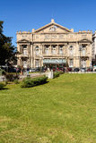 Facade of the Teatro Colon in Buenos Aires Argentina Stock Images