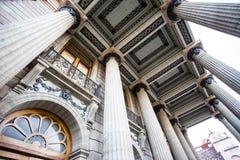 Facade of Teatro Juarez in Guanajuato, Mexico. North America Royalty Free Stock Images