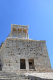 Facade of temple of Athena Nike Royalty Free Stock Photos
