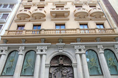 Facade, Teruel,Aragon,Spain Stock Images