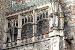 Facade of town hall at Aachen, Germany Stock Photos