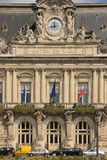Facade. Town Hall. Tours. France Stock Photo