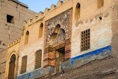 Facade, Tunis. Historic facade in Tunis. Djerba Stock Photos