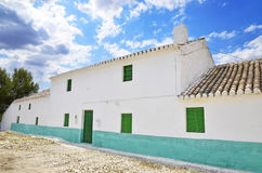 Facade of a typical Andalusian farmhouse Stock Photo
