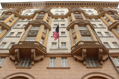 Facade of the US Consulate in Moscow Royalty Free Stock Image